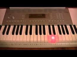 yamaha keyboard lighted keys casio lk 280 lighted keyboard review youtube