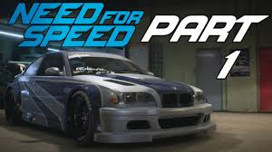 need for speed bmw need for speed 2015 let s play part 1 welcome to ventura