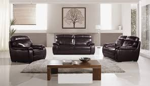 3 piece leather sofa set