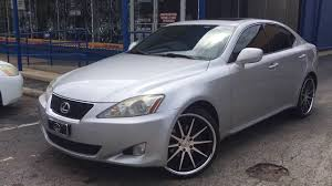 lexus is250 niche wheels 2008 lexus is 250 with 20