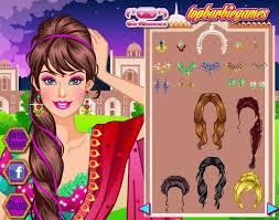 barbie sari dress games