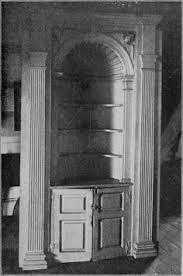 489 baker pine corner cabinet w shell top lot 489 dining