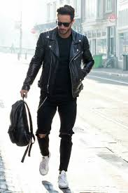 best mens leather motorcycle jacket 15 coolest ways to wear leather jacket this fall leather