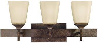 Kichler Bath Lighting Kichler Souldern 3 Light Bath Light Marbled Bronze 5316mbz Lsusa