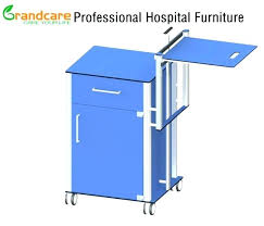 hospital bed table with drawer hospital bedside table for sale side table used hospital bedside