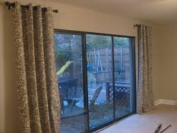 Interiors Sliding Glass Door Curtains by Sliding Glass Door Curtains Blinds Sliding Glass Door Curtains