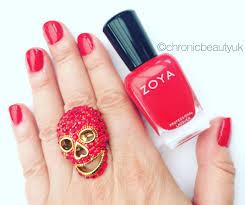 fab christmas nail shade from zoya chronic beauty