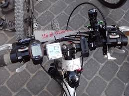 porta mtb auto mtb bike against the machine