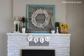 Fall Apartment Decorating Ideas Apartment Living Rooms Ideas Fall Mantel Decor Mantel Shelf