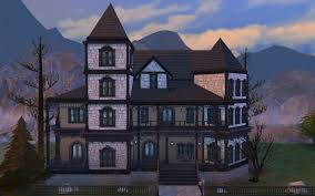 gothic victorian house gothic victorian house by polarbearsims at mod the sims sims 4 updates