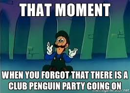 Super Mario Memes - the smb super show club penguin party meme by supermariofan65 on