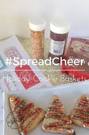 spread cheer with holiday cookie baskets a day in candiland