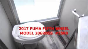 2017 puma fifth wheel 286rbss 5500 youtube