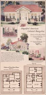 colonial revival house plans 1930 wardway house plans colonial revival cottage mayflower by