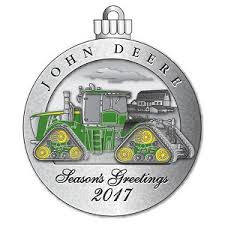 deere limited edition 2017 pewter ornament 22nd in