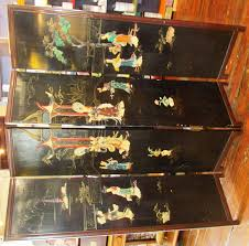chinese 4 panel room divider screen phantastic phinds