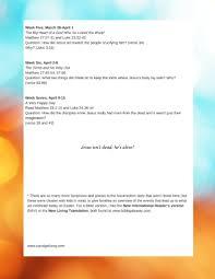easter reading plan carol u0027s family blog