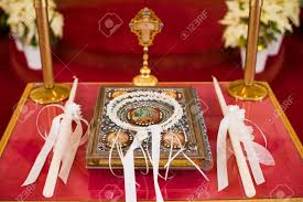orthodox wedding crowns orthodox wedding crowns stock photo picture and royalty free
