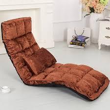 position canap étage transat 14 position adjsutable 4 couleurs tissu chaise salon
