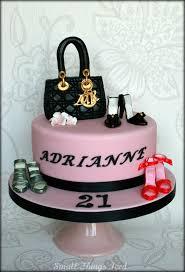 small things iced handbag u0026 shoes birthday cake