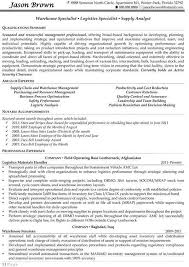 Logistics Management Specialist Resume Warehouse Specialist Warehouse Specialist 2 Objective For Worker