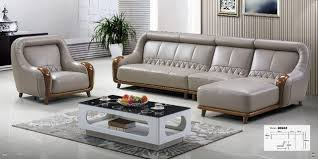 canap forme u meubles de salon moderne en forme de u en cuir tissu coin sofa avec