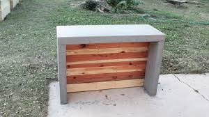 Diy Patio Furniture Cinder Blocks How To Make Concrete Countertops For An Outdoor Bar Or Kitchen