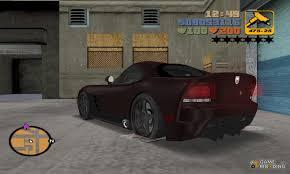 Dodge Viper Custom - dodge viper srt 10 carbon custom for gta 3