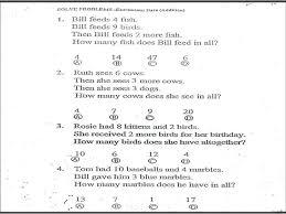 grad math math post test 1st grad