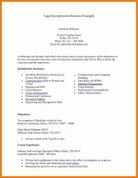 Example Of Receptionist Resume by 7 Front Desk Medical Receptionist Resume Chef Resumed