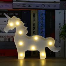 wholesale led under table lights best wholesale lumiparty unicorn led table l 3d white unicorn