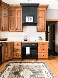 what color goes with oak cabinets how to make an oak kitchen cool again copper corners