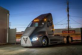 luxury semi trucks thor trucks a new electric semi truck challenger enters the ring