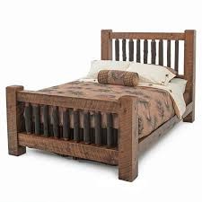Timber Frame Bed Rustic Sawn Timber Frame Bed