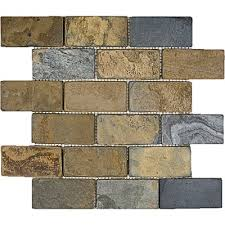 Tumbled Slate Backsplash by 16 Best Slate Mosaics Images On Pinterest Backsplash Ideas Come