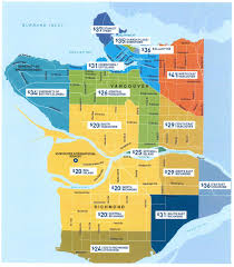 Map Vancouver Canada by Not Everybody Will Be Happy With New Yvr Taxi Rates Vancouver Sun