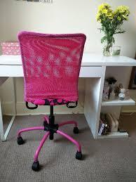Ikea Swivel Desk Chair by Swivel Desk Chair Ikea Torbjorn In Pink Perfect Condition