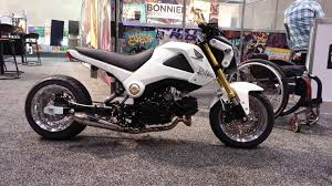 stretched out honda grom not my style but cool imgur