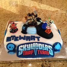 skylanders trap team birthday cake fondant birthday party ideas