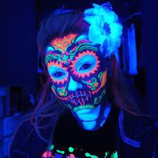 Blacklight Halloween Party Ideas by Http Skullsproject Files Wordpress Com 2012 06