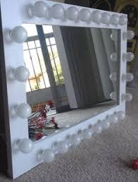 vanity makeup mirror with light bulbs imperfect vanity makeup mirror with lights available built in