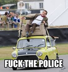 Fuck The Police Meme - fuck the police very funny mr bean meme photo for facebook