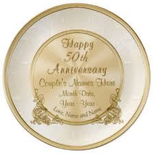 25th anniversary plates personalized anniversary plates zazzle