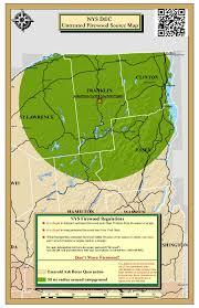 Emerald Ash Borer Map Meacham Lake Firewood Map Nys Dept Of Environmental Conservation