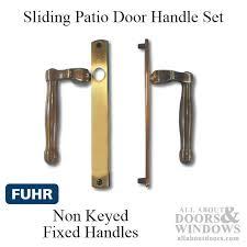 Keyed Patio Door Handle Sliding Door Dummy Handle Handleset For Sliding Doors