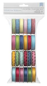 craft ribbon value ribbon pack by american crafts mayberry