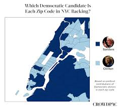 Brooklyn Ny Zip Code Map by Mapping Ny Democratic Support Crowdpac