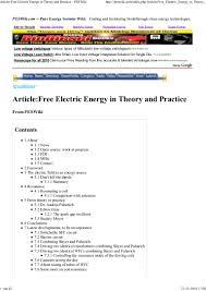 free electric energy 21 10 2010