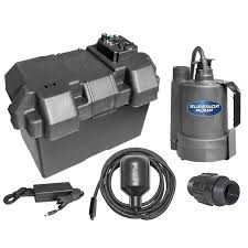 superior pump 92900 powered battery back up sump pump with