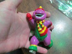 barney ornament purple dinosaur ornaments